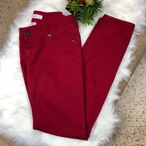Candie's Red Skinny Jeans